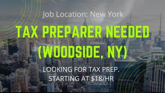 TAX PREPARER NEEDED - Job News 2020