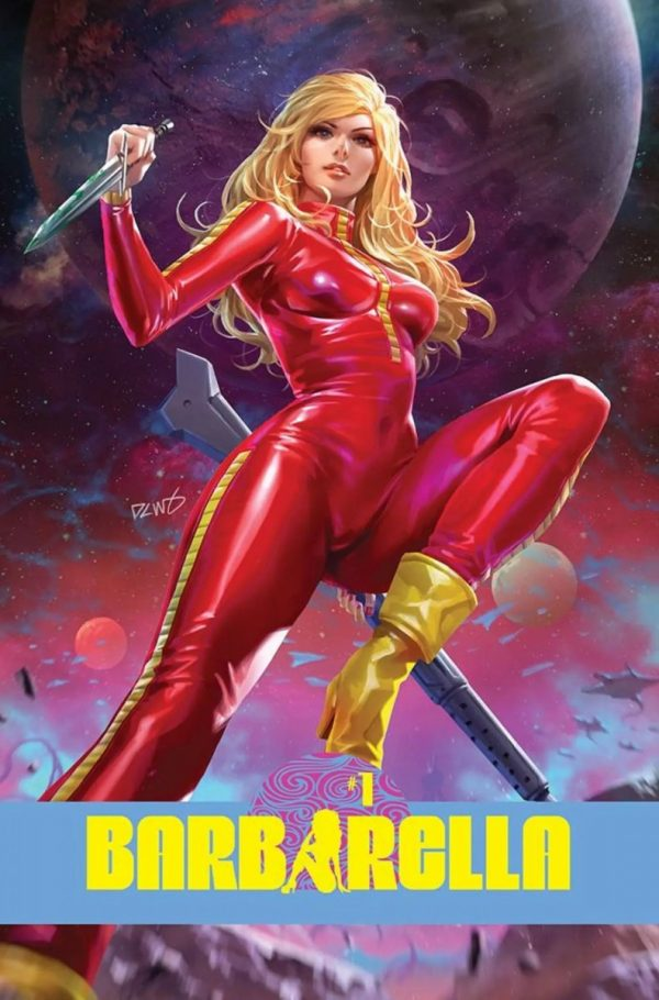 Barbarella returns for all-new adventures with Dynamite Entertainment