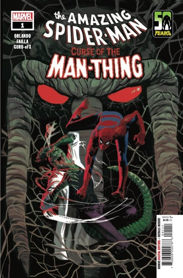 Comic Book Preview – Spider-Man: Curse of the Man-Thing #1
