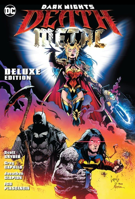Comic Book Review – Dark Nights: Death Metal Deluxe Edition