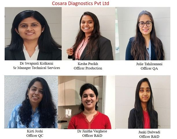 COVID-19: Meet The 6 Women Who Made 20 Lakh RT-PCR Kits For India In A Year
