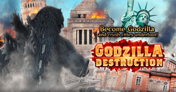 Godzilla Destruction stomps onto mobile devices