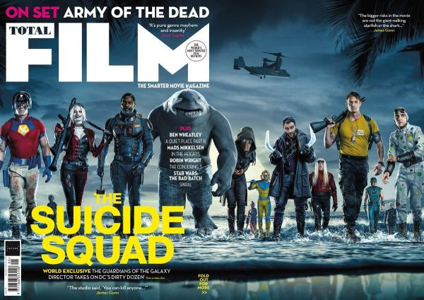 James Gunn's The Suicide Squad featured on new magazine covers
