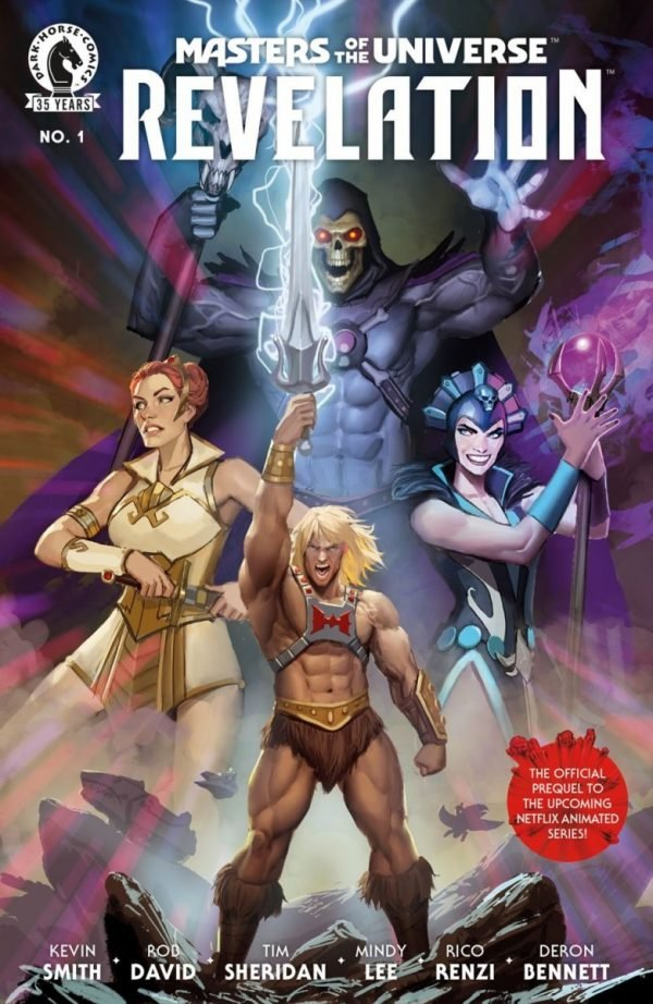 Kevin Smith's Masters of the Universe: Revelation receiving prequel comic book series