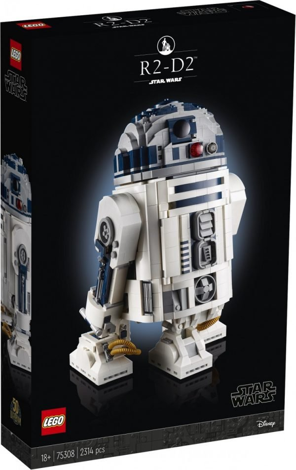 LEGO unveils 2,314-piece Star Wars R2-D2 buildable set