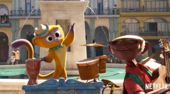 Lin-Manuel Miranda is a singing Honey Bear in the teaser for Netflix's Vivo