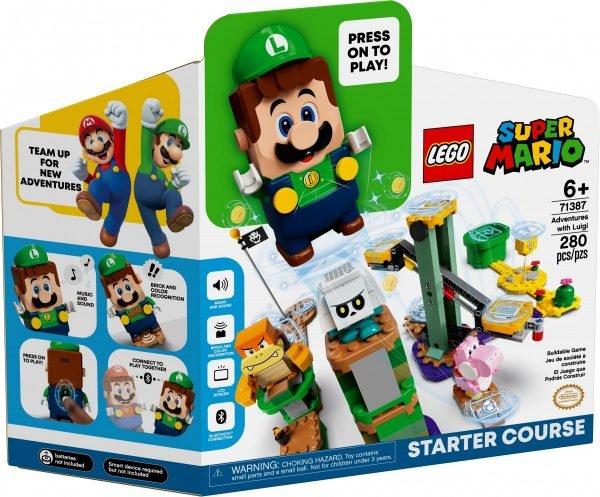 Luigi comes to LEGO's Super Mario theme