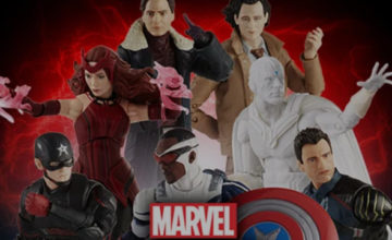 Marvel Legends Disney+ Shows Figures Pre-Orders: Scarlet Witch, Loki and More