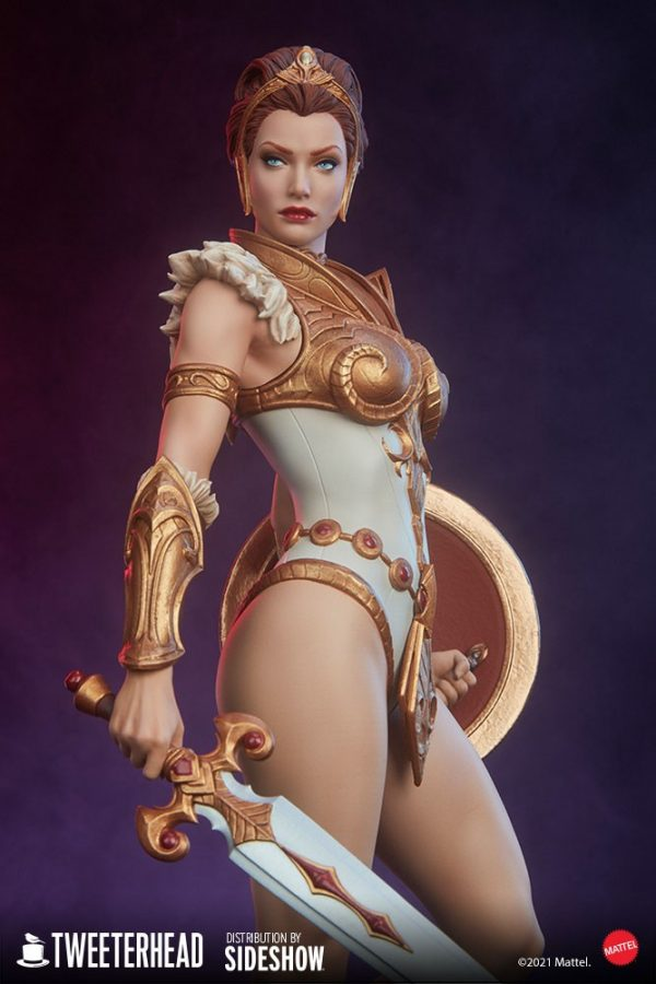 Masters of the Universe's Teela gets a collectible statue from Tweeterhead