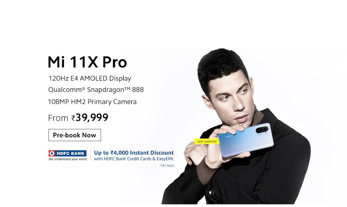 Mi 11X Pro Pre-Orders Begin in India Today: Price, Launch Offers, Specifications