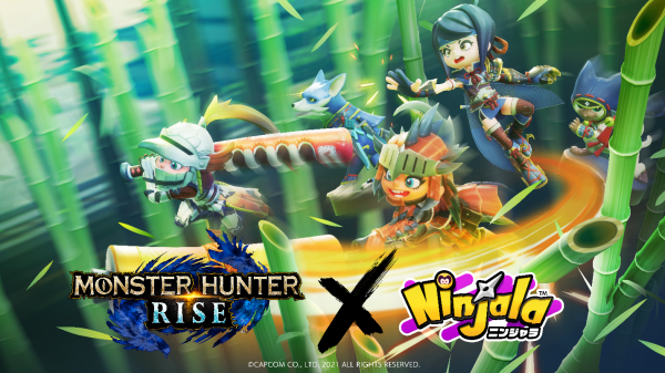 Monster Hunter Rise collaboration event gets underway in Ninjala