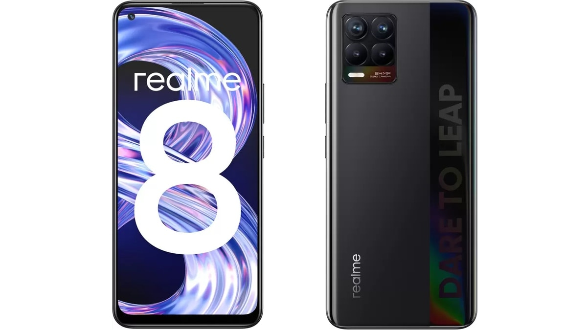 Realme 8 6GB + 128GB Storage Variant to Go on Sale in India via Flipkart, Realme.com: Price, Specification