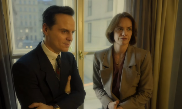 Ruth Wilson and Andrew Scott star in trailer for HBO's Oslo