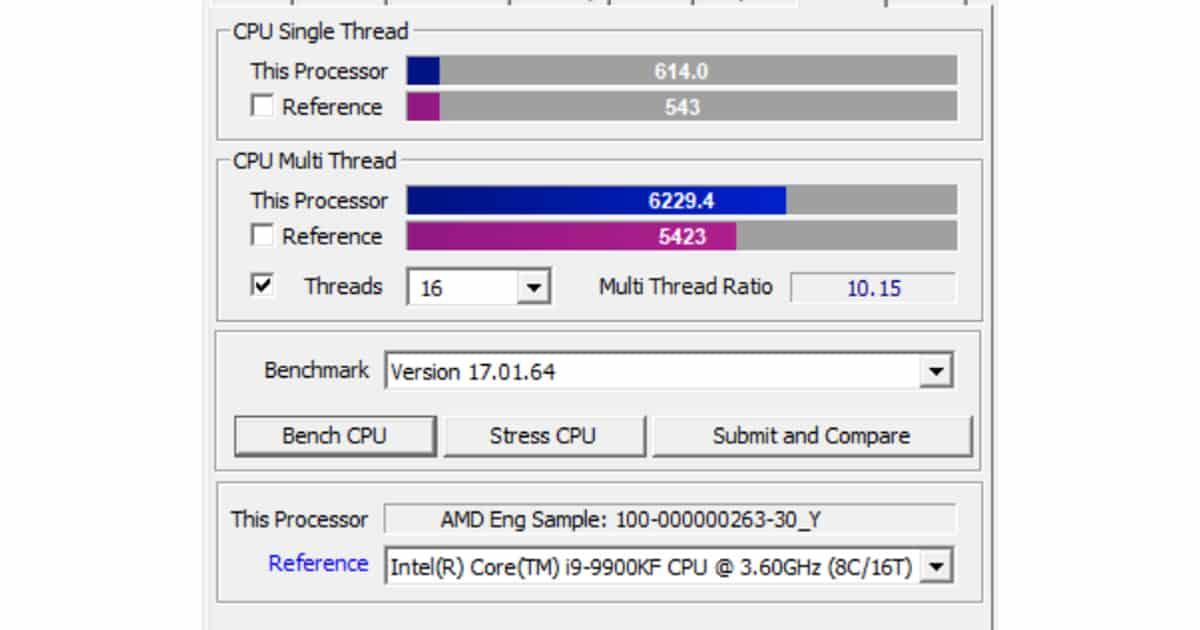 Ryzen 7 5750G Pro showcase impressive performance – Leaks and Benchmarks