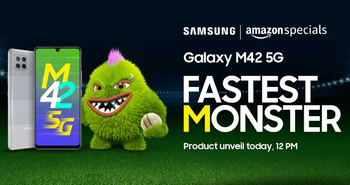 Samsung Galaxy M42 5G to Launch in India Today: Expected Price, Specifications, More