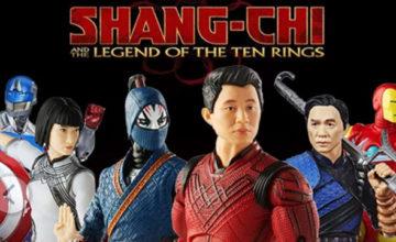 'Shang-Chi' Marvel Legends Figures Available for Pre-Order