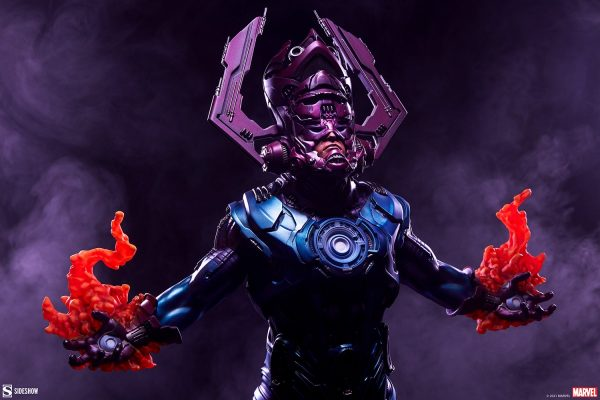 Sideshow's new Galactus collectible maquette stands over two feet tallve
