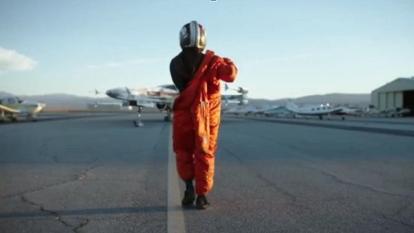 Spaceships and green screen feature in first set photos from Star Wars: Rogue Squadron