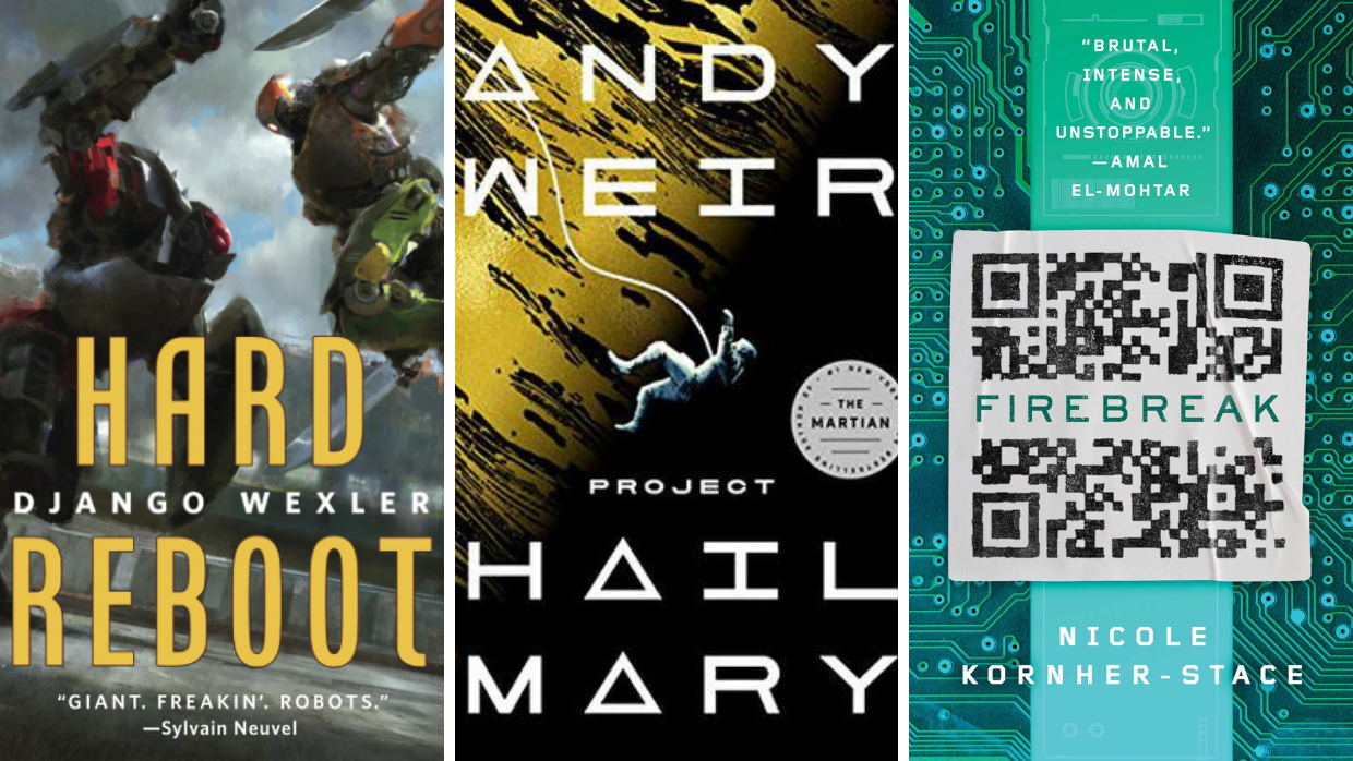 Top New Science Fiction Books in May 2021