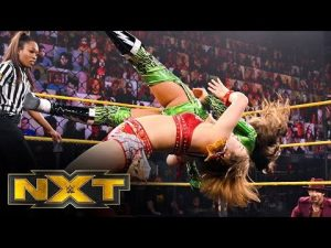 Sarray vs. Aliyah w / The Robert Stone BrandWWE NXT: May 18, 2021