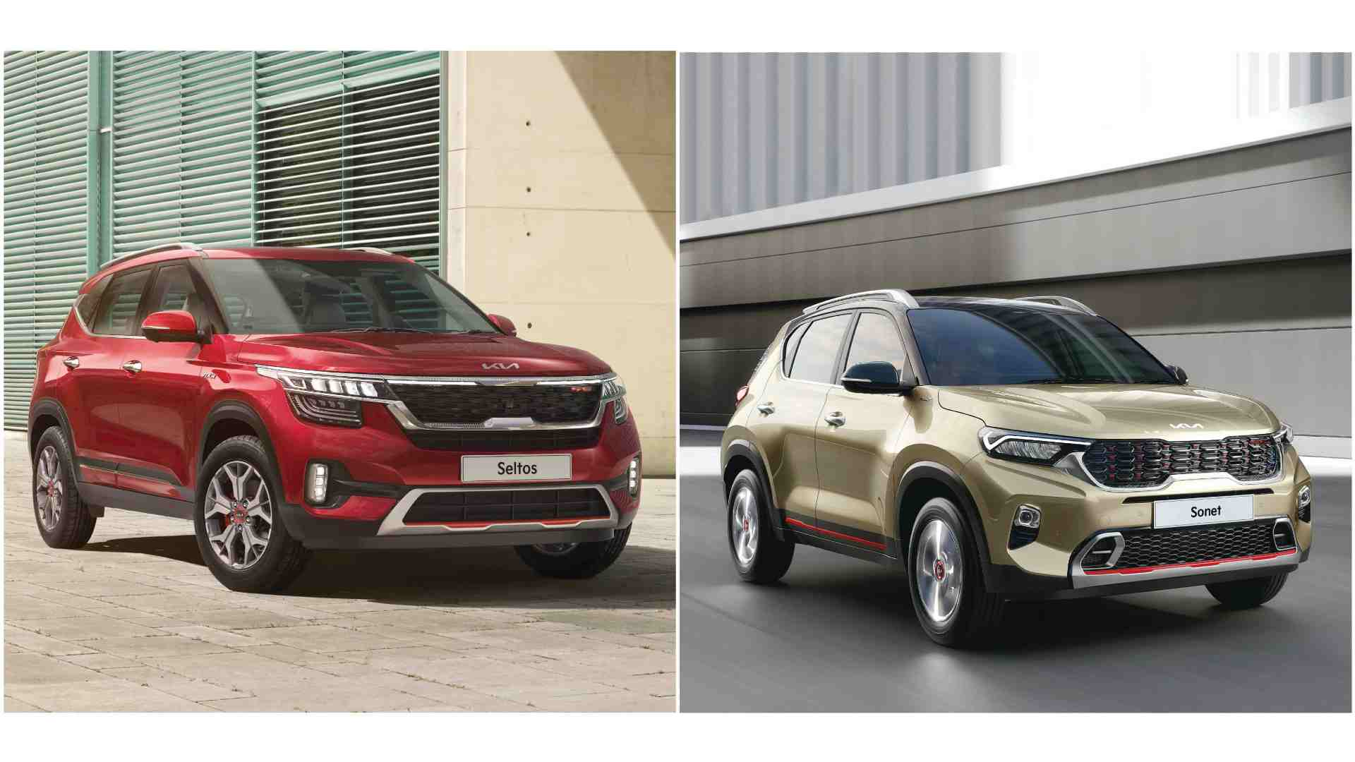 Updated Kia Sonet, Kia Seltos launched in India, AT variants have paddle changers- Technology News, Firstpost