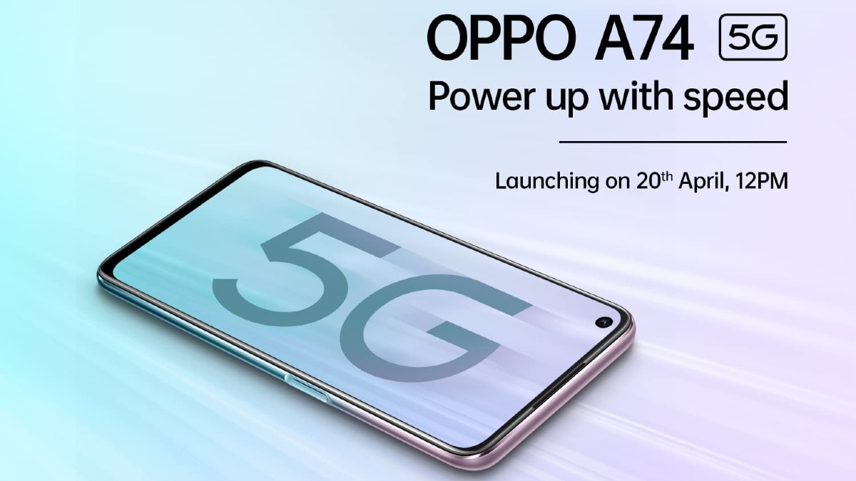 The Oppo A74 5G price in India confirmed to be below Rs 20,000 ahead of the official launch