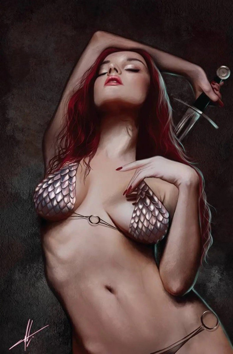 Comic Preview - Invincible Red Sonja # 1