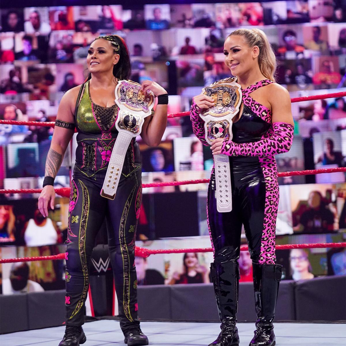WWE Women 🌸, Tamina and Natalya: Raw 17.5.21