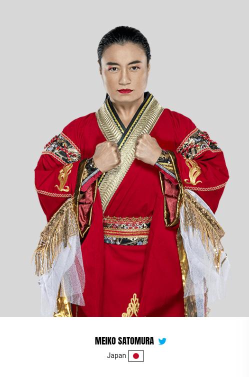 WWE Women M, Meiko Satomura