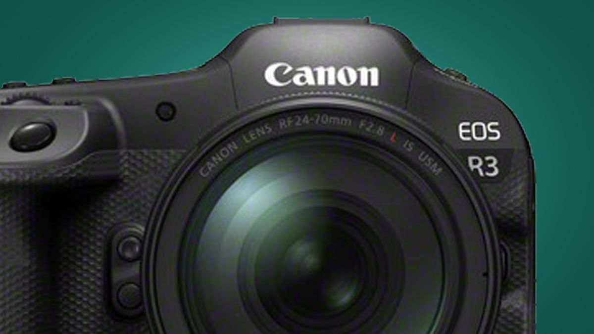 Canon explains why the Canon EOS R3 is not its flagship SLR camera