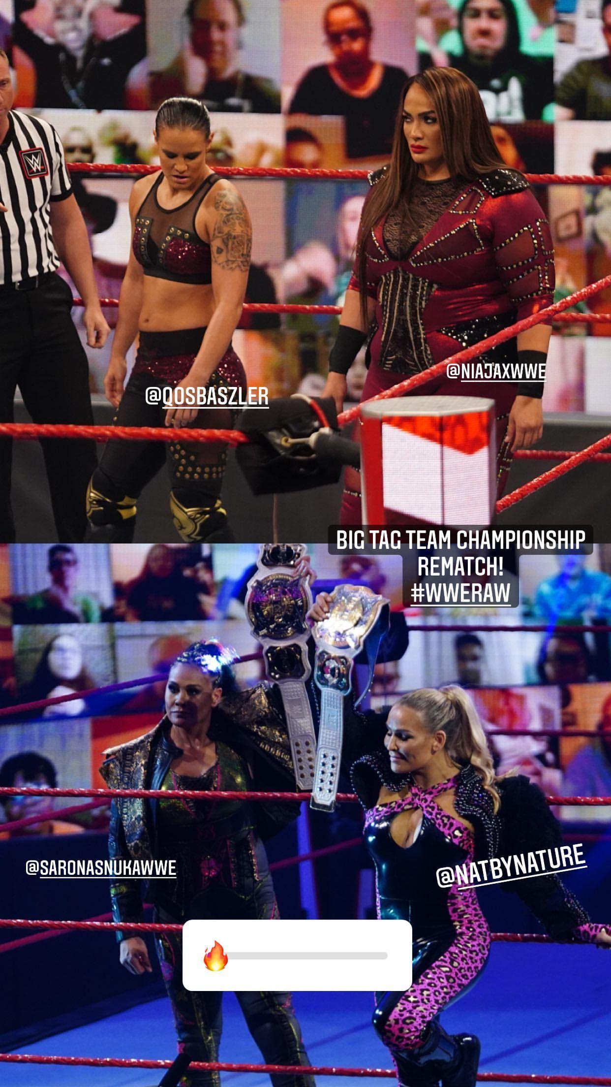 WWE women ⭐, ay Shayna Baszler, Nia Jax, Tamina, Natalya ⭐