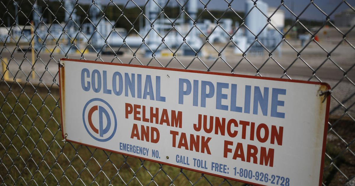 Colonial Pipeline says activity will return to normal after a ransomware attack