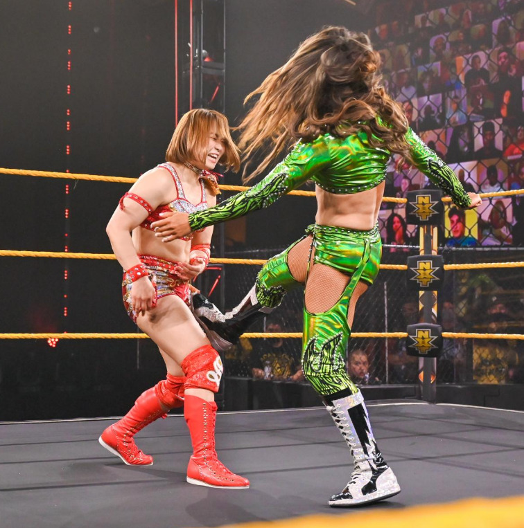 Sarray vs. Aliyah w / The Robert Stone BrandWWE NXT: May 18, 2021 - Digital