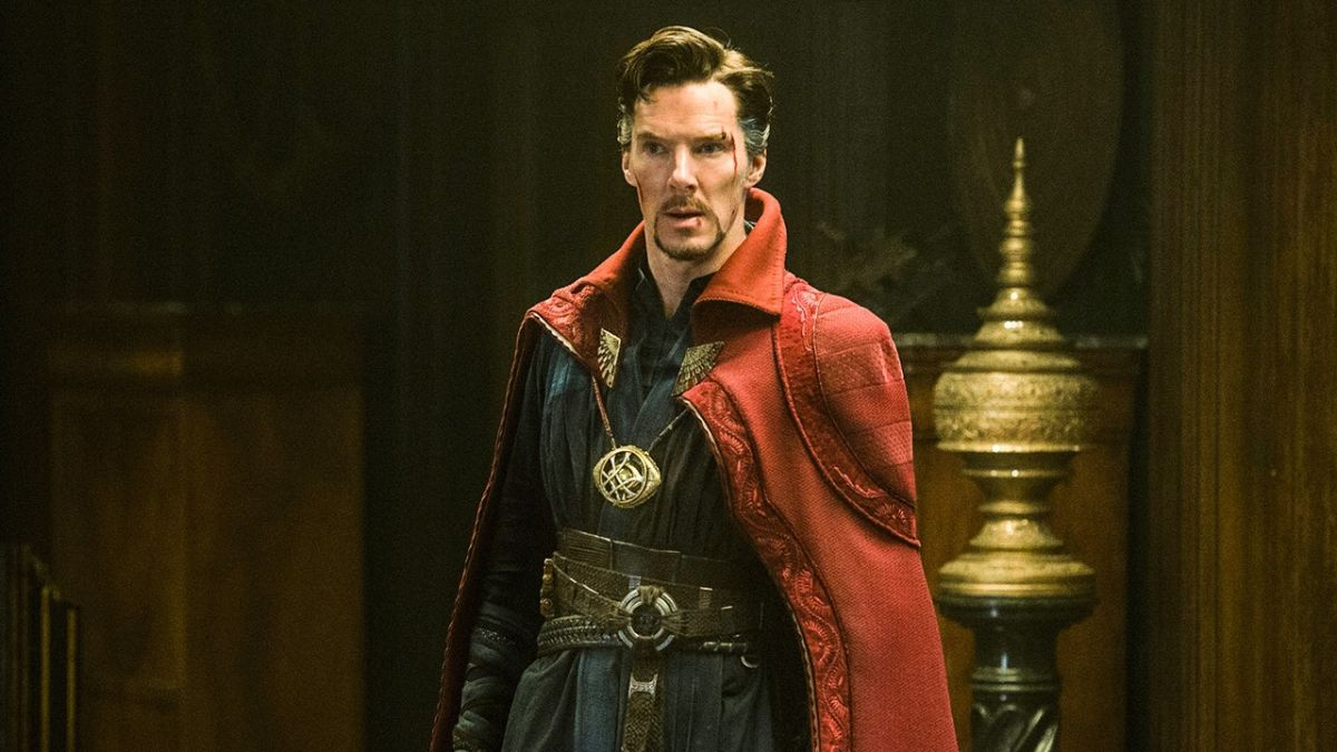 Dr. Strange appeared almost on WandaVision - which is why he didn't