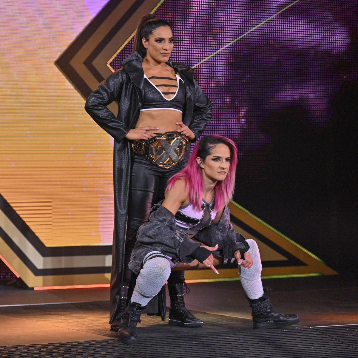 WWE Women, Raquel Gonzalez and Dakota Kai: NXT 25.5.21