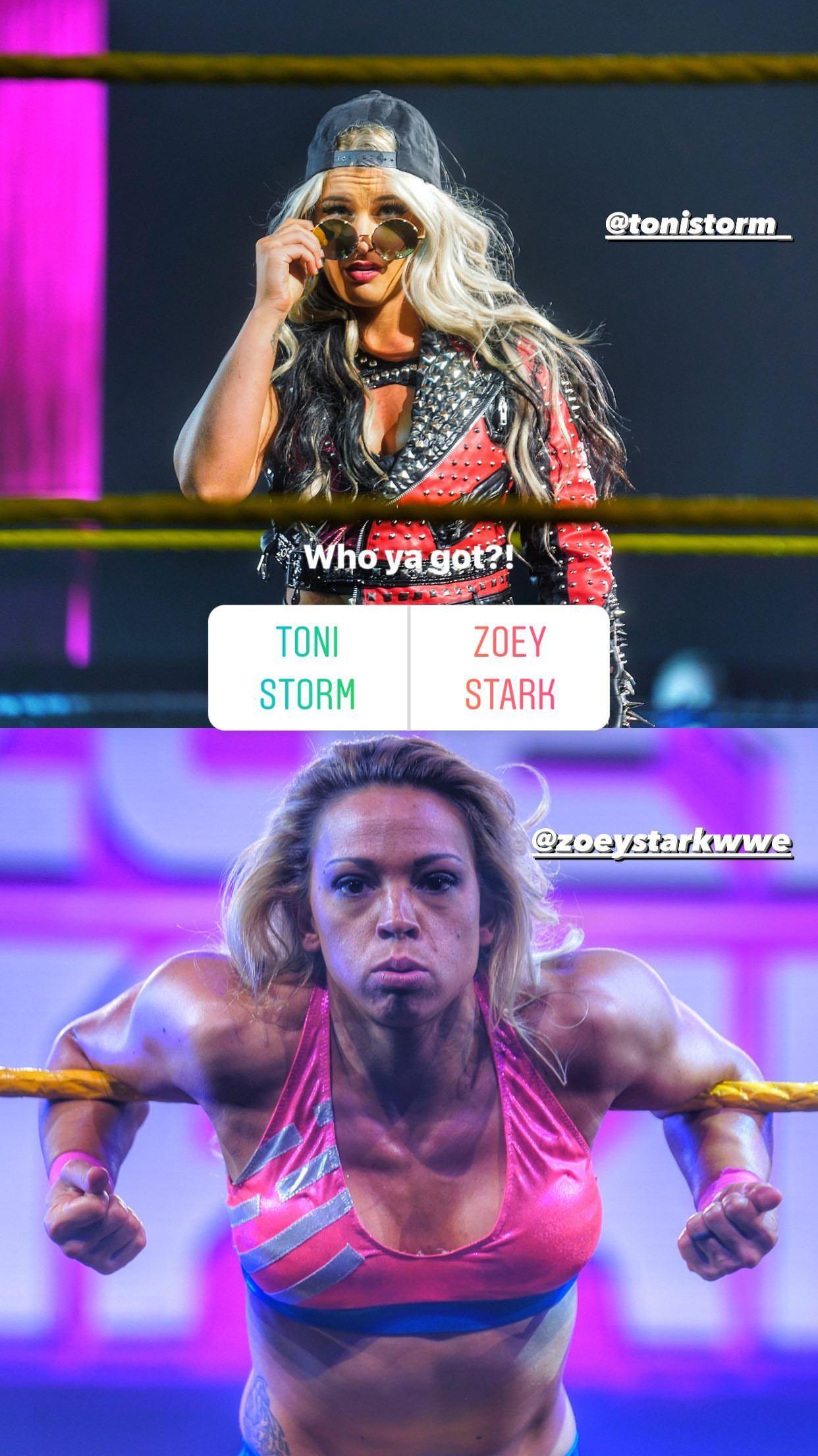 WWE Women 🌸, � Toni Storm and Zoey Stark �