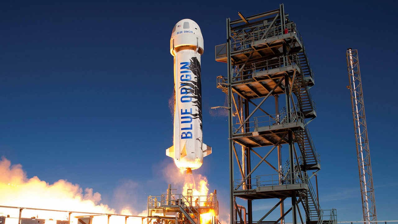 Blue Origins hopes to offer one seat on its first passenger flight to space technology, Technology News, Firstpost