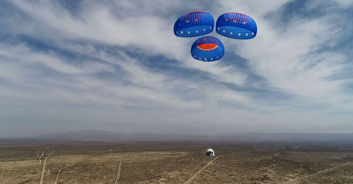 People offer millions of deals on first trip with Blue Origin suborbital crew capsule