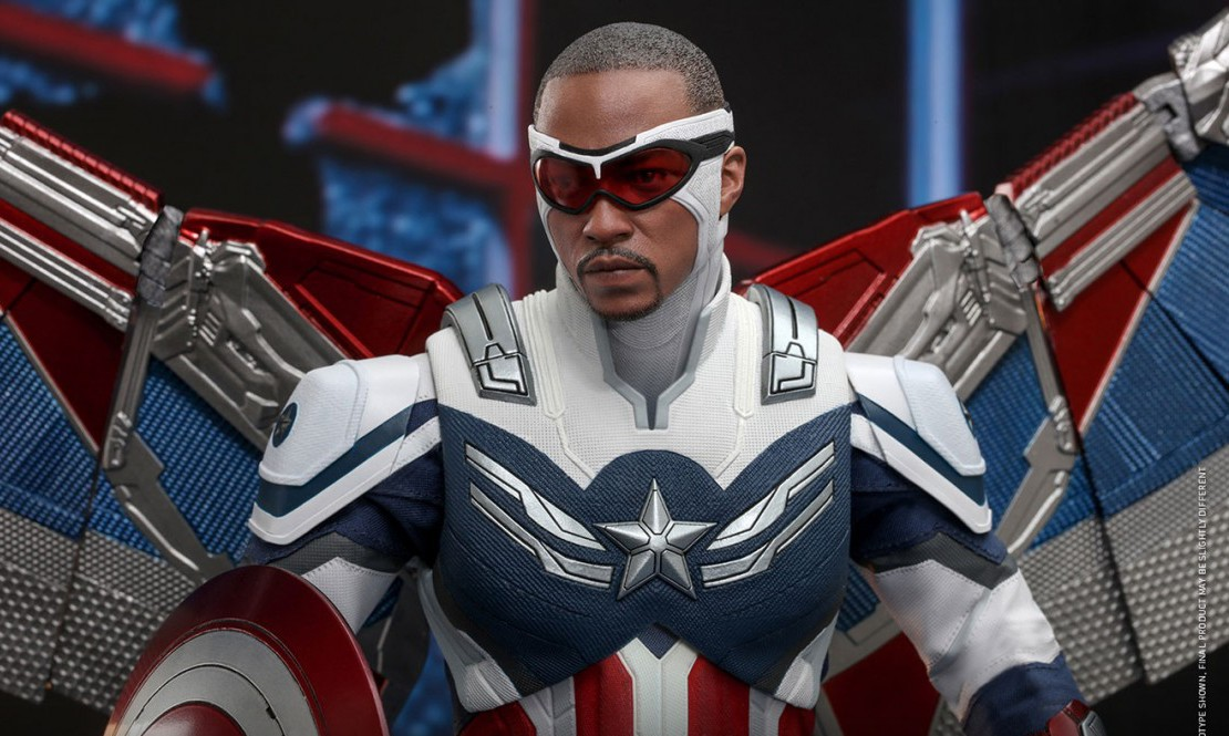 Hot Toys reveals the new Captain Sam Wilson's American character Falcon and Winter Soldier