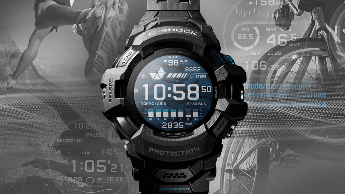 Casio's latest G-SHOCK smartwatch is the first to run on Google's Wear OS