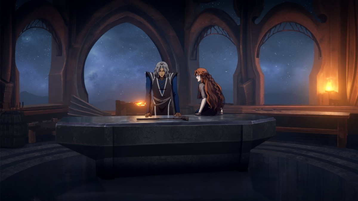 Netflix is sharing new images from Castlevania Season 4