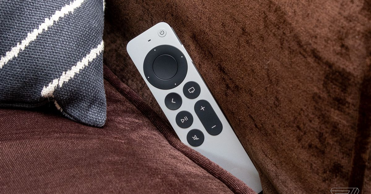 Apple's excuse for not having AirTag in Siri Remote: it's too thick to easily disappear from your couch