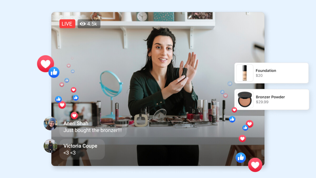 Facebook launches new video buying feature for iOS devices
