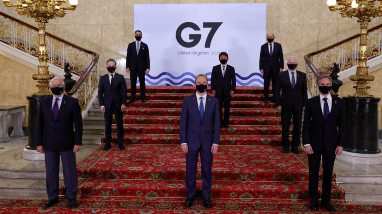 G7 sets agenda for next month, vaccines and climate change high - Technology News, Firstpost