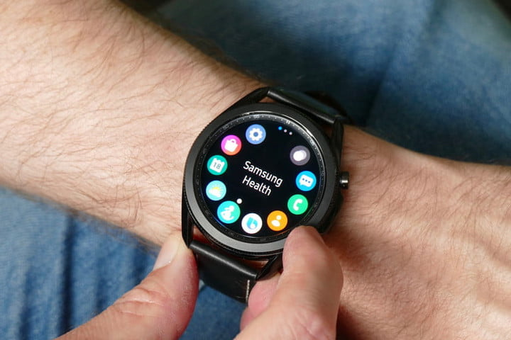 Samsung Galaxy Watch 3 applications
