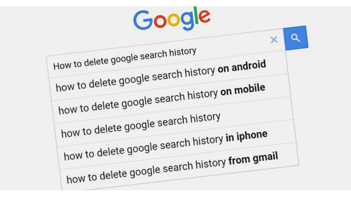 Google lets you clear your search history in the last 15 minutes with two clicks