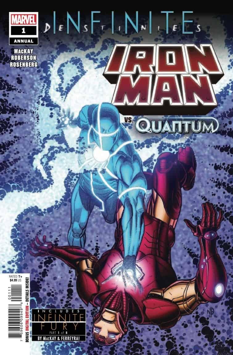 Comic Preview - Iron Man Annual # 1