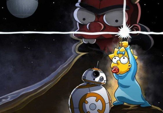 Disney + is celebrating May 4 with the Simpsons on Star Wars