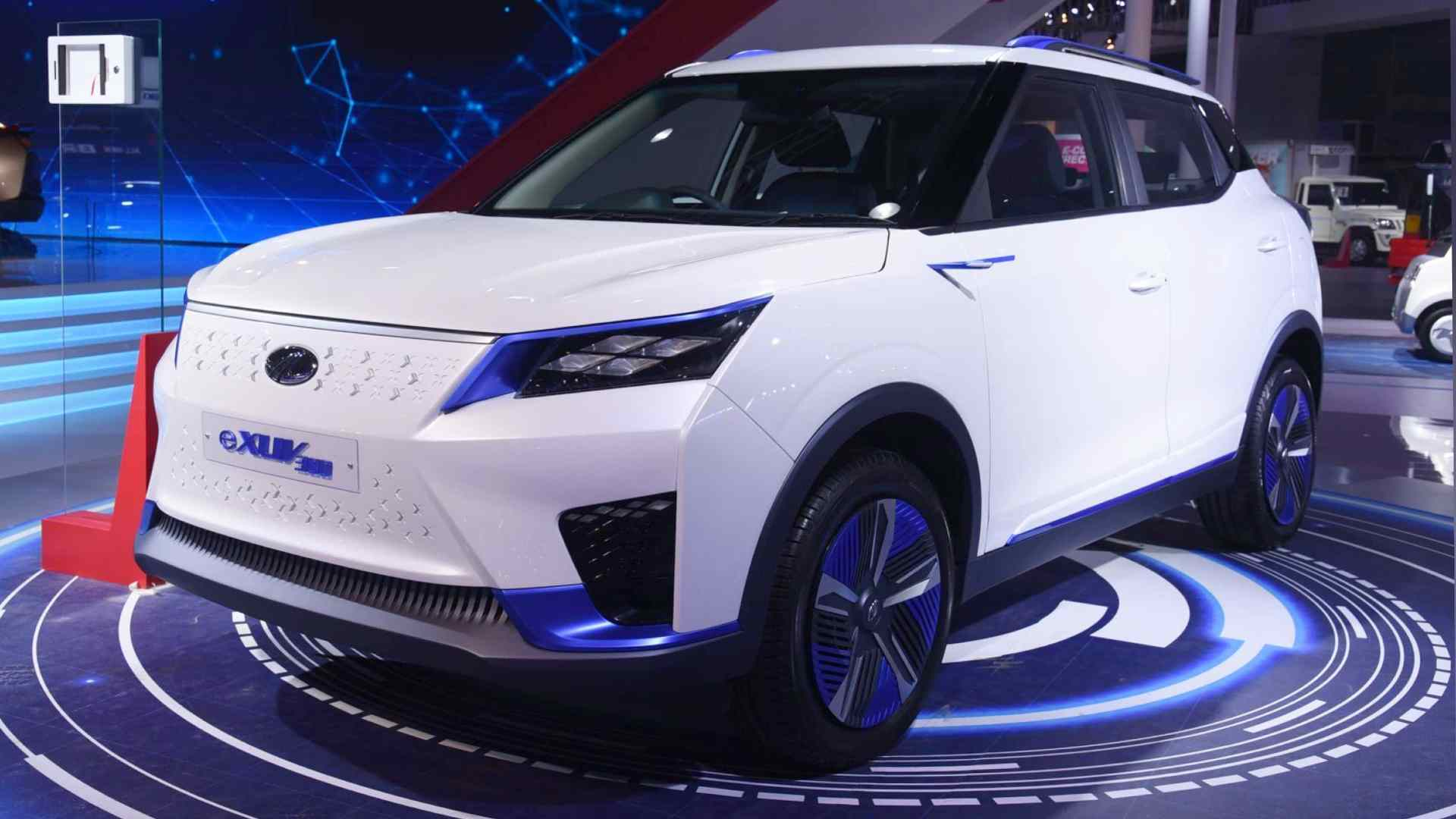 The Mahindra eXUV300 is scheduled to arrive in 2022. Photo: Mahindra