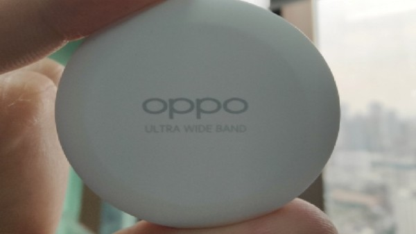 Oppo Smart Tag images refer to a rechargeable battery feature
